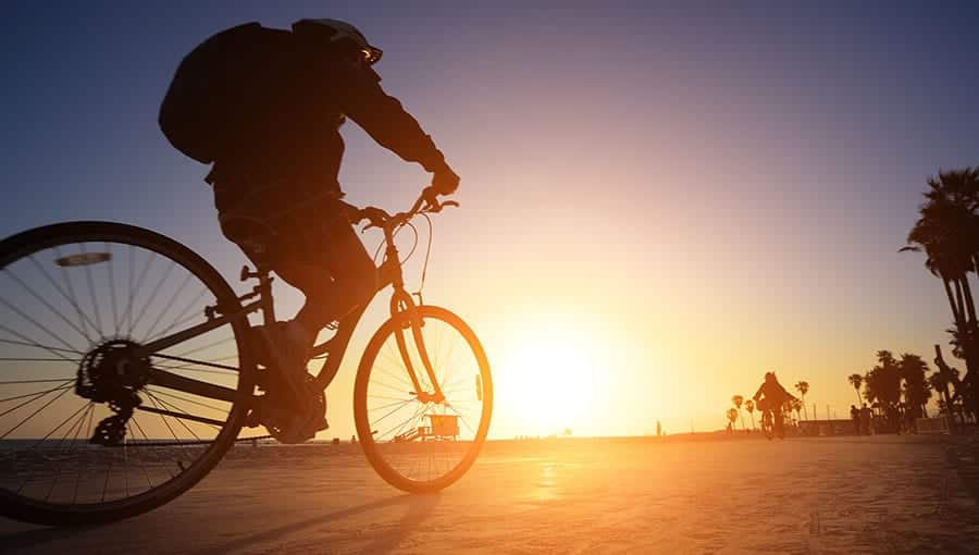 Orange County, California promotes a healthy and active lifestyle by providing numerous fun outdoor activities, which is great for staying sober!